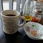 ロイヤル ガーデン カフェ - 食後のコーヒー