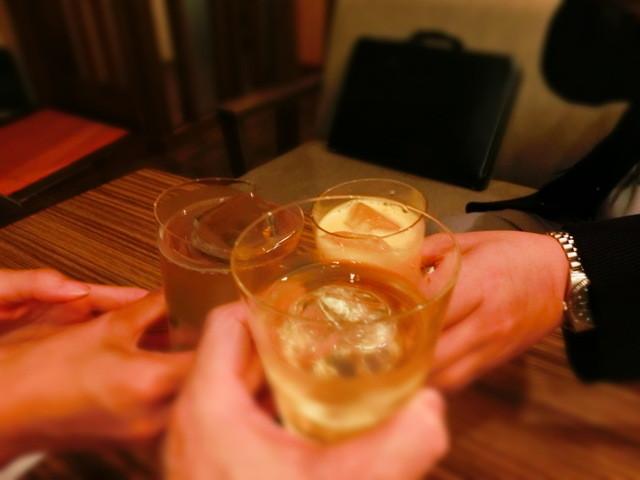 バーアルディ - ●本日2回目の乾杯♪ジェムソンのロックで。。