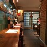 麺処はるにれ - カウンター席 (2014.11.19)