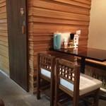 麺処はるにれ - テーブル席 (2014.11.19)