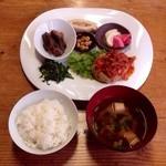 森の食菜 - 料理写真:豆力ハンバーグランチ♪