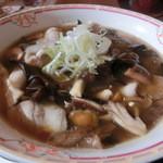 レストラン 湖水  - きのこラーメン・・\770-