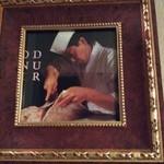 32866817 - 料理本に掲載された調理長さん、武勇伝をお聞き下さい。