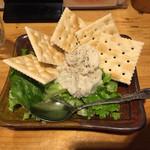 串カツ ここから - ブルーチーズのポテサラ