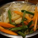 32868835 - 焼き野菜にじゃが芋?
