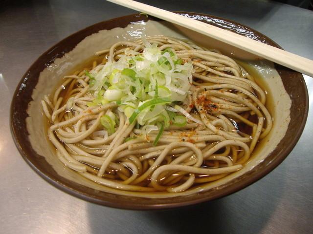 JR長野駅 新幹線 そば店 - かけそば310円