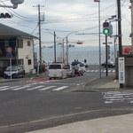 廻転寿司 海鮮 - 第1?駐車場からの海