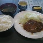みなと茶屋 - 料理写真:和風ハンバーグ定食