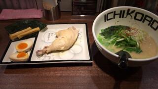 鶏そば十番156 麻布十番本店 - 特級鳥そば 1050円