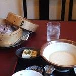 ひと粒 - 五穀米とろろ定食ミニうどん付き