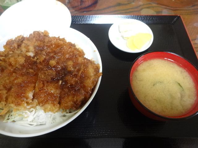 はるみ - ソースかつ丼¥850☆