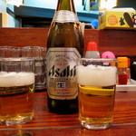 楓花亭 - シメビー♪(瓶ビール)