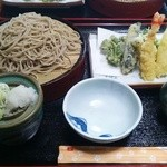 ときん亭 - 天もり蕎麦!!