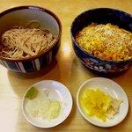 利久 - カツ丼セット(850円)