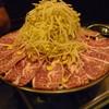 兆-治 - 料理写真:☆てっちゃん鍋にハラミちゃん(≧▽≦)/~♡☆
