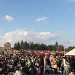 32880073 - 神宮外苑絵画館前の広場で開催されていた「いちょう祭り」