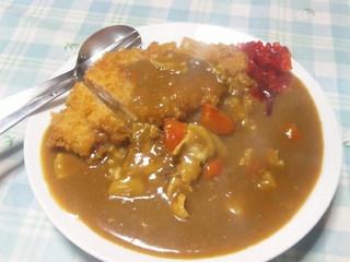 きよたけ食堂 - カツカレー(大盛)