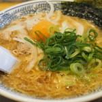 丸源ラーメン - 650えん『熟成醤油 肉そば』2014.11