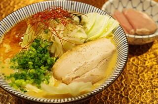 自家製麺 MENSHO TOKYO - 味噌ラーメン(冬季限定)
