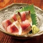 炙り〆鯖のお造り