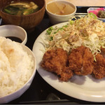喫茶うずら - 地鶏チキンカツ定食