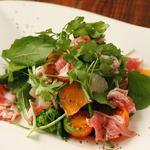 生ハムと柑橘のサラダ