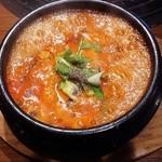 韓味館 - 海鮮豆腐チゲ