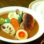 サムズカリー - 料理写真:サムズチキンカリー¥1000