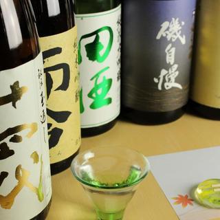 こだわりの日本酒(地酒)