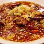 麻辣王豆腐 - 水煮牛肉