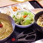 サンムーン - 冷麺ランチセット