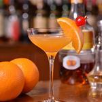 ミントンハウス - ~フレッシュバレンシア~手しぼりの生オレンジジュースにアプリコートのリキュール