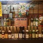 桃太郎 - お酒の種類も豊富です。