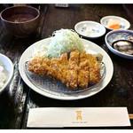 水塩土菜 - 「ロースカツ定食」(2014.01)