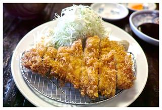 水塩土菜 本店 - 「ロースカツ」(2014.01)