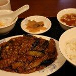 329644 - マーボー茄子定食