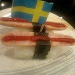 廻鮮にぎりや 海宝 - 子供たちに人気のソーセージ寿司