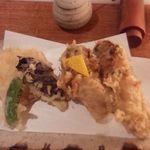 32900136 - 牡蛎の天ぷら(野菜天付き)