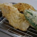 天ぷら えびす食堂 - 最後の2種