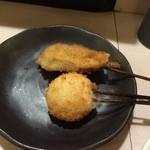 串芳 - 甘だいのしそ巻き マッシュルームチーズ