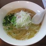 ビアンコ - 料理写真:ねぎうどん大盛550円(税込)