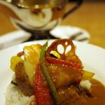 クアトロ ラボ - 野菜カレー