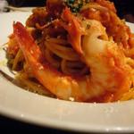 Bona Dea - 海老のスパゲティアラビアータ