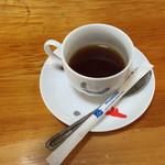 手打そば処北の玄庵 - セルフコーヒー