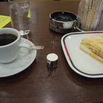 コンパル - 珈琲とモーニングセット一式