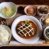 サンブリッヂ - 料理写真:ハンバーグセット¥800