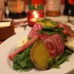ブラッスリー アルティザン - 野菜サラダ