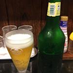 濱塩らぁめん - ハートランドビール