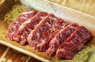 つじホルモン 新栄町店 - 国産牛 上ハラミ