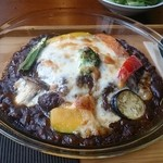 32910715 - 彩り野菜の焼きカレー
